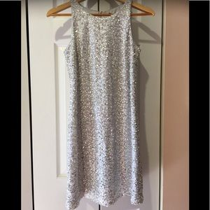 WHBM~Sparkling Sophisticated Sequin Cocktail Mini